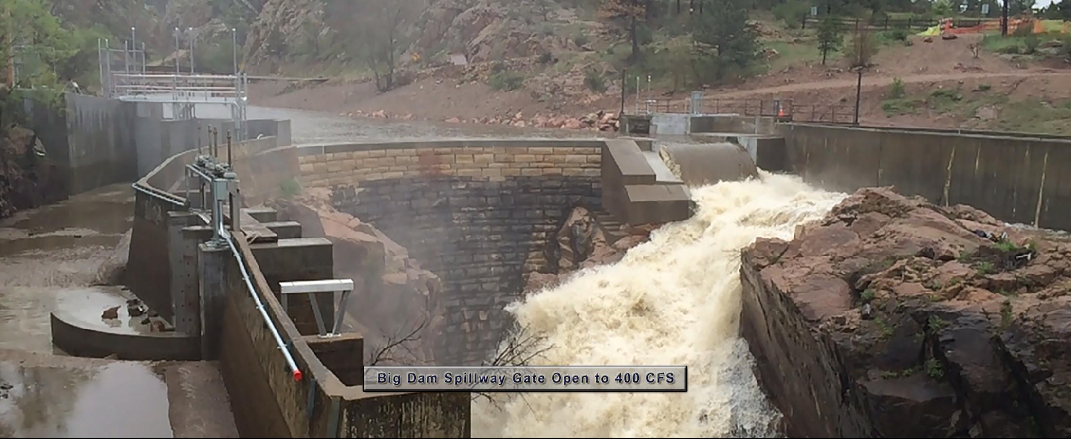 Big Dam Spillway Gate