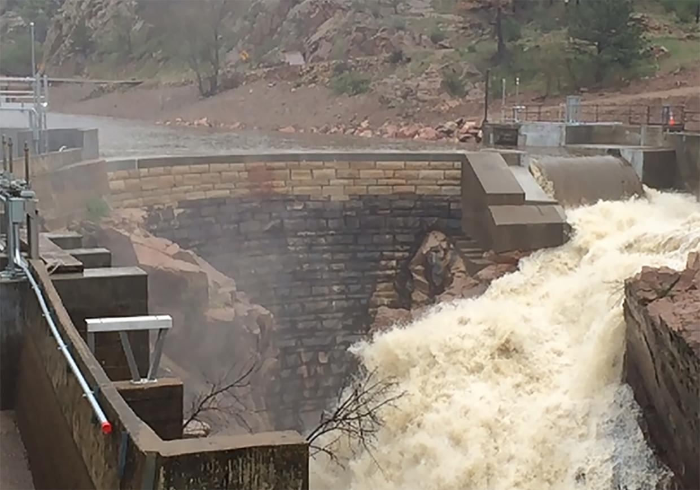 Big Dam Spillway